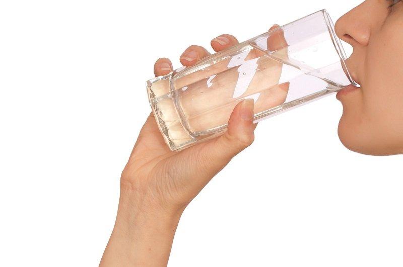 вода после еды