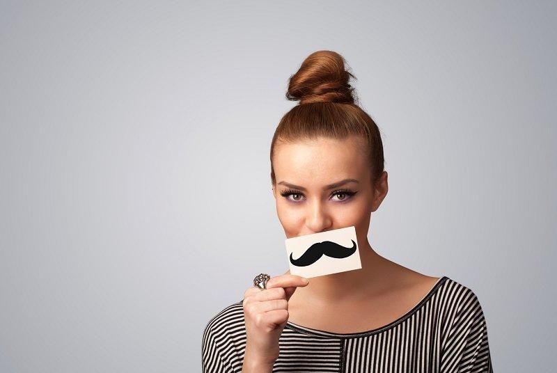 как избавиться от усов и бороды женщине