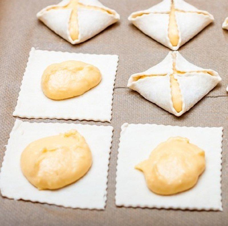 пирожное ленинградское слоёно-заварное