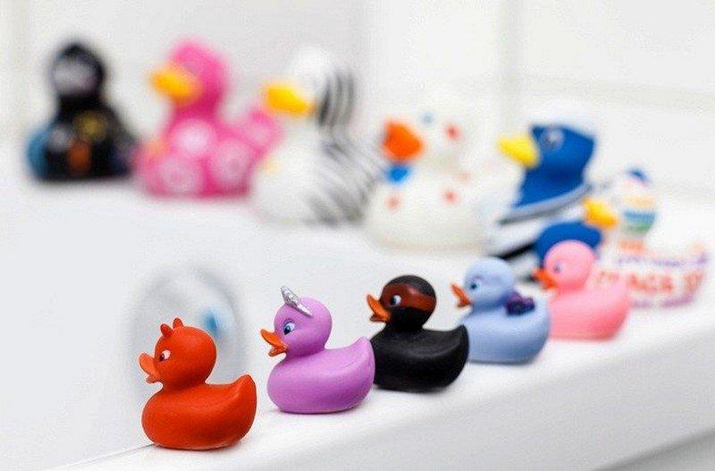 резиновые игрушки для ванной