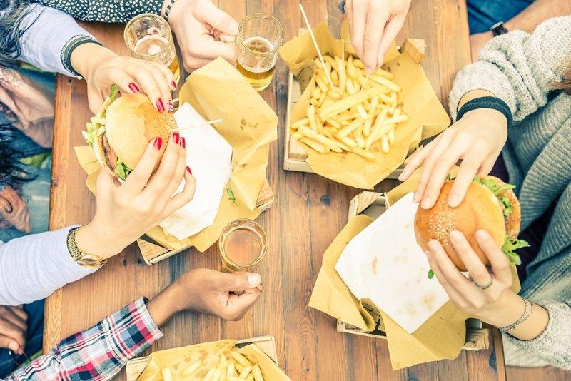 вредные пищевые продукты
