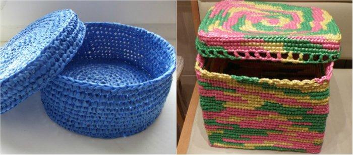 вязание из пакетов