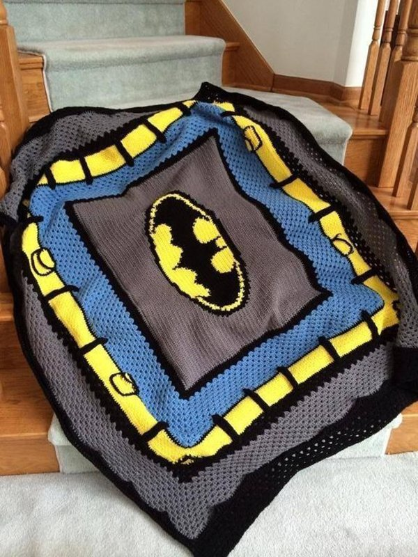 одеяло Бэтмена