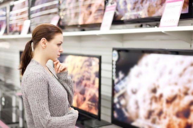 как выбрать телевизор с большой диагональю