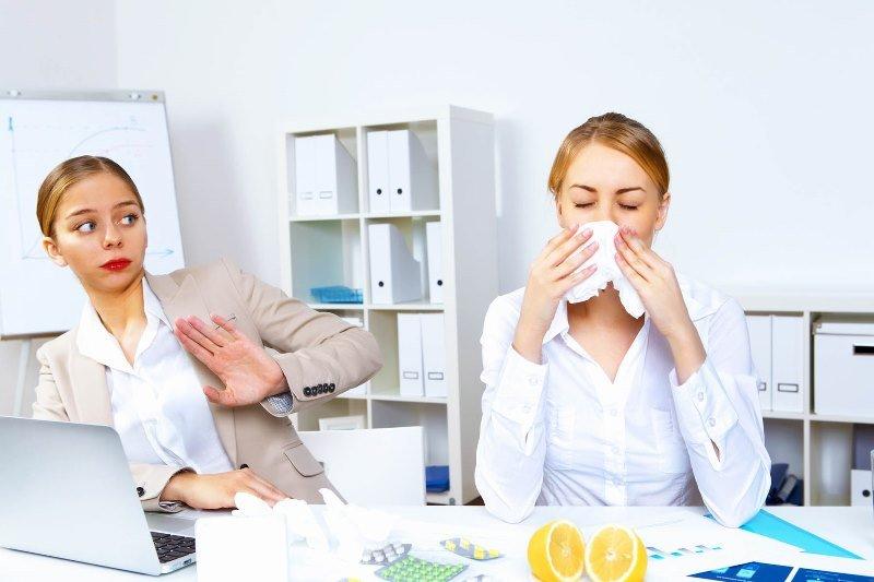 можно ли взять больничный при аллергии