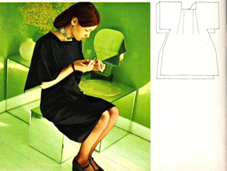 ткани для ретро-платья