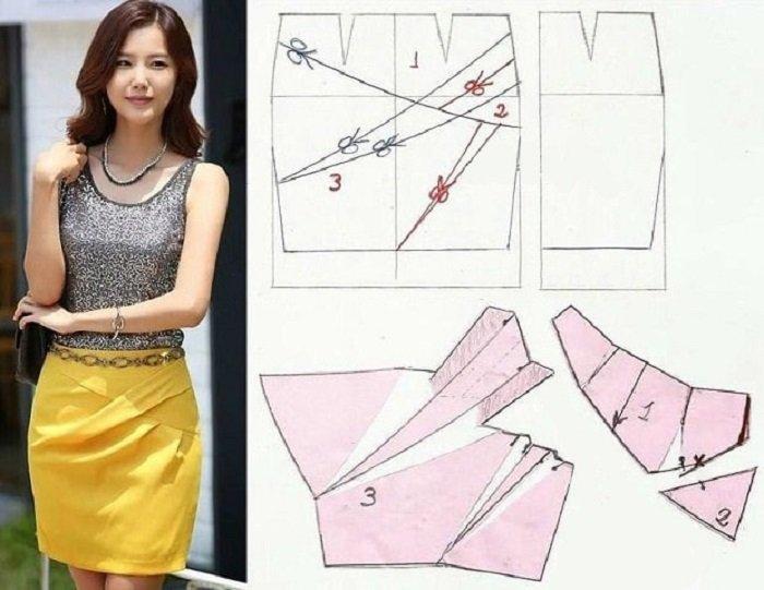 модные юбки с выкройками