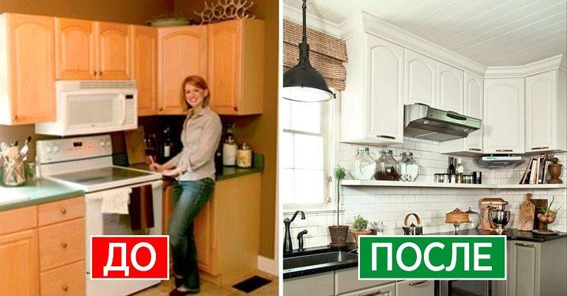 высота верхних шкафов кухни стандарт