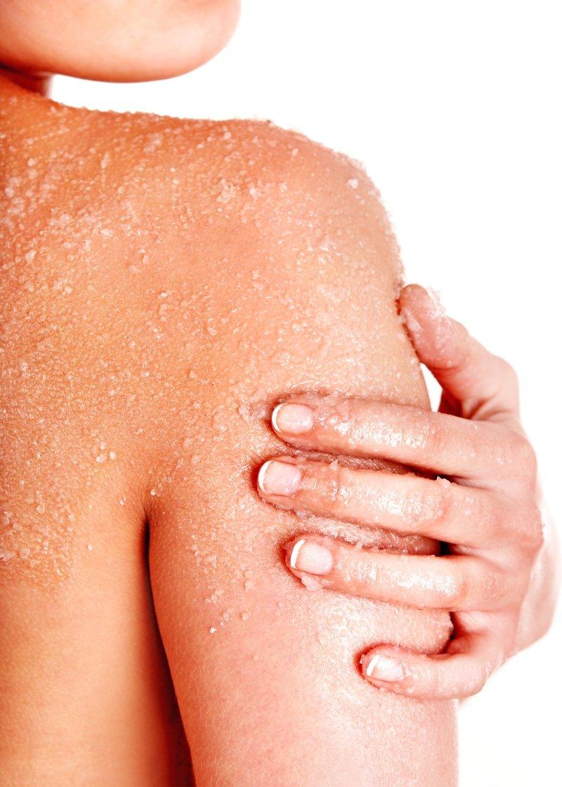 сыпь на теле без симптомов
