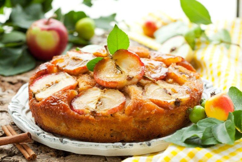 яблочный пляцок рецепт