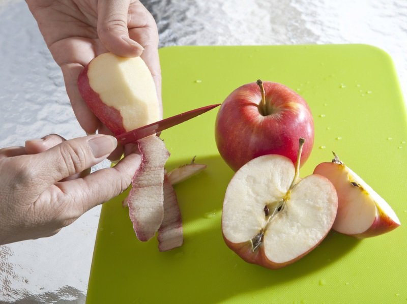 яблочный муссовый торт