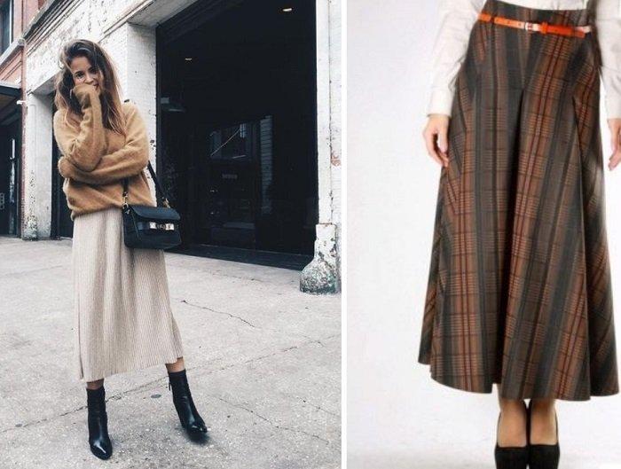 модные юбки на зиму