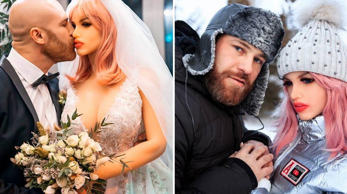 Свадьба спортсмена из Казахстана с куклой, которая восемнадцать месяцев безмолвно его любила