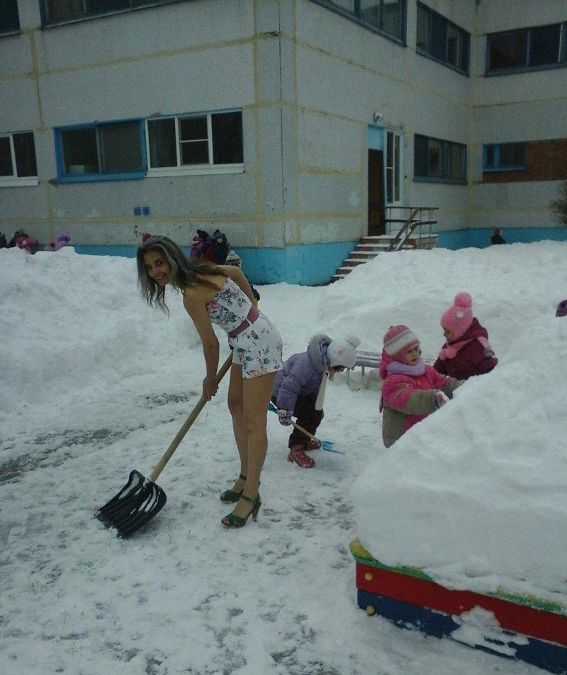 тольяттинская снегурочка