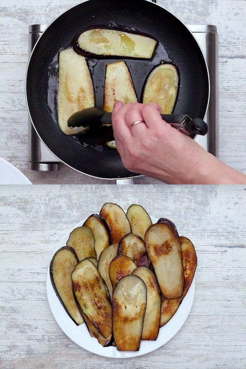 закуска из баклажанов с чесноком и помидорами
