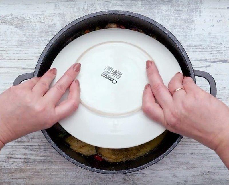 холодная закуска из баклажанов с чесноком