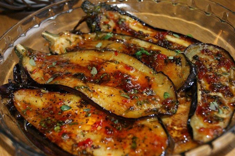 рецепт баклажаны пикантные