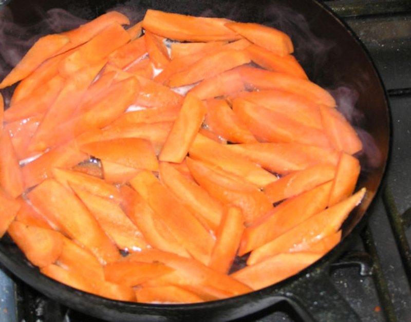 простая закуска из моркови