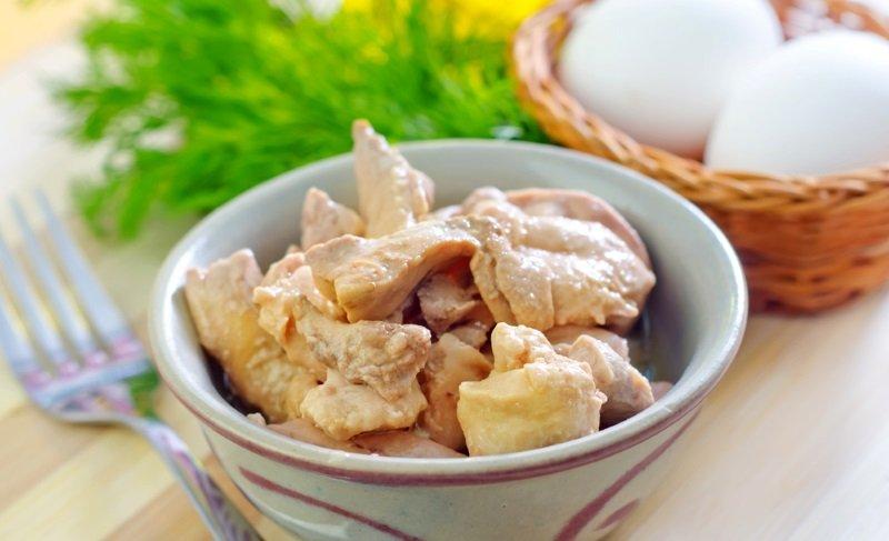 Рецепт закуски с печенью трески