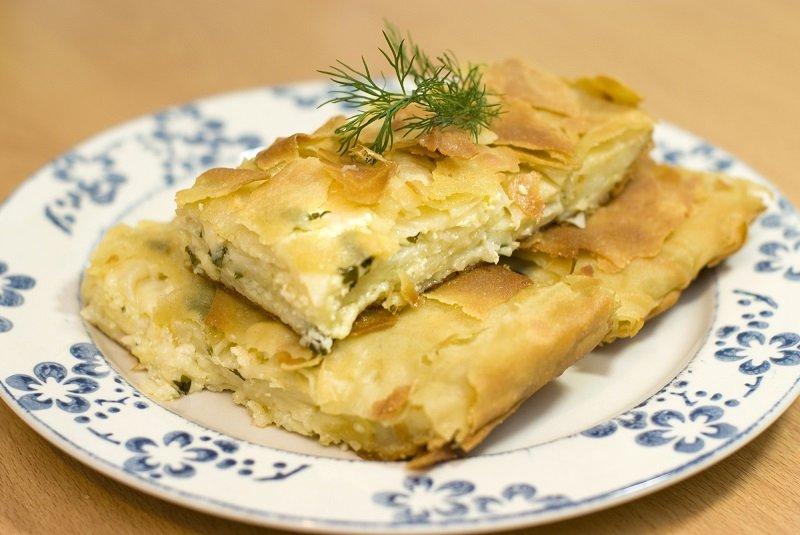 пирог из лаваша и сыра