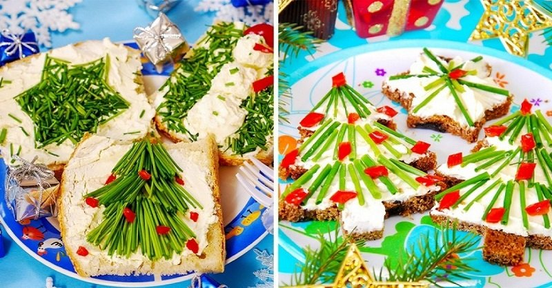 8 несложных новогодних закусок для праздничного настроения