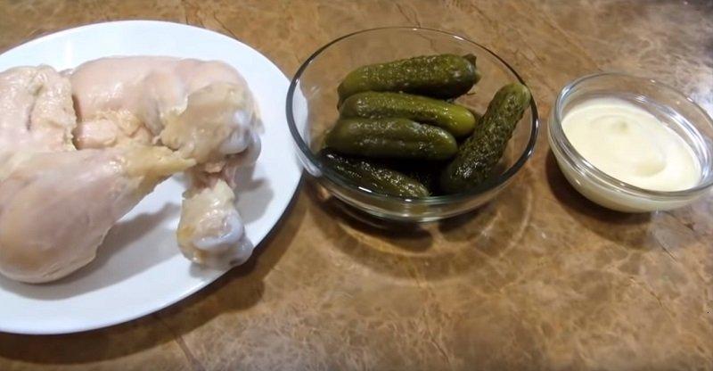 закусочный наполеон из готовых коржей