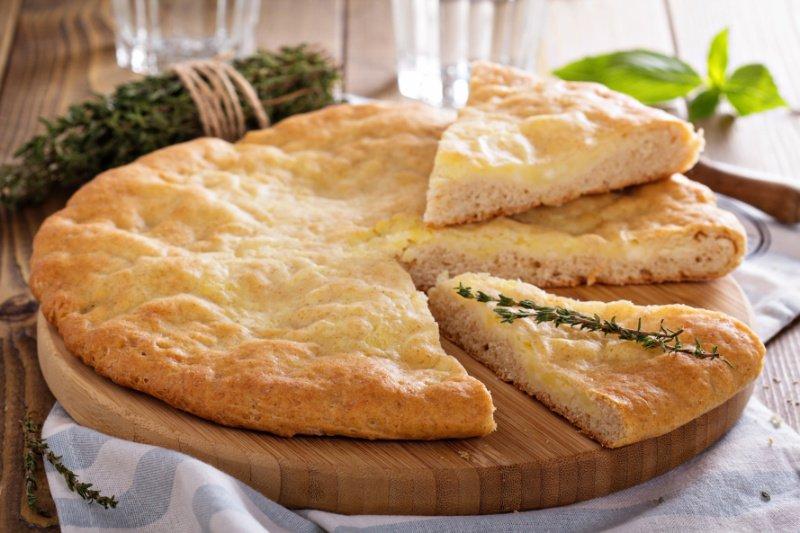 заливной пирог с сыром рецепт