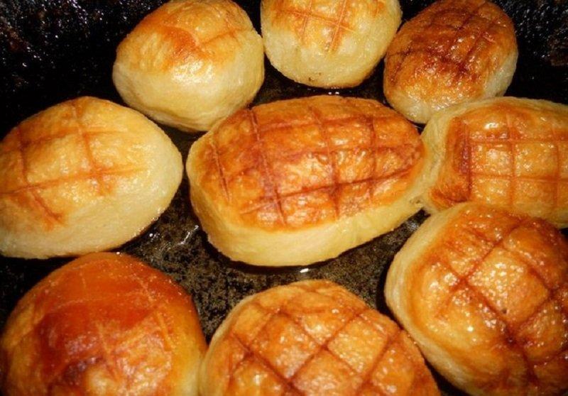 отмороженный картофель