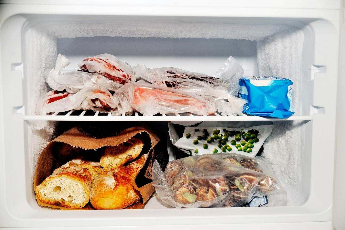 заморозка продуктов на месяц
