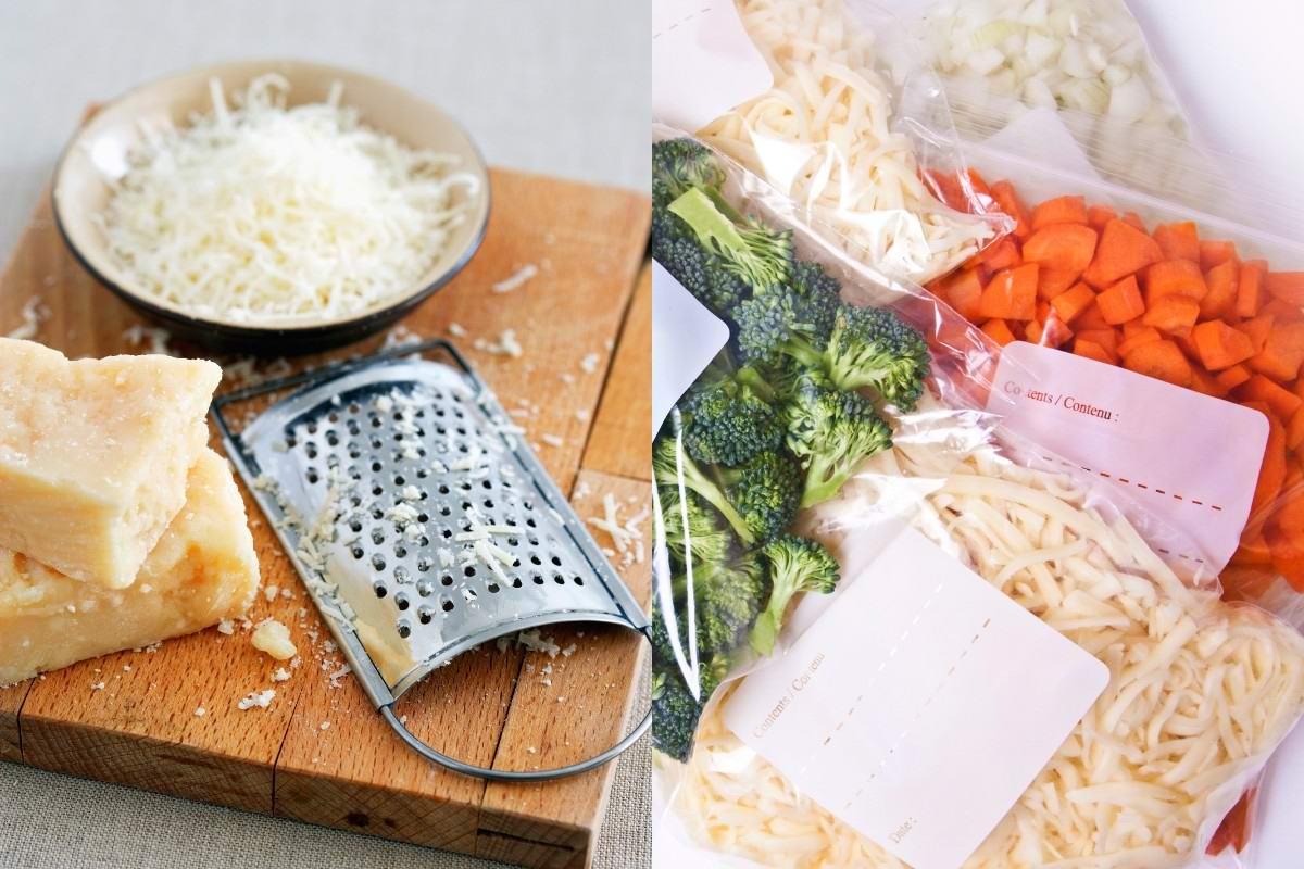 заморозка продуктов в фольге