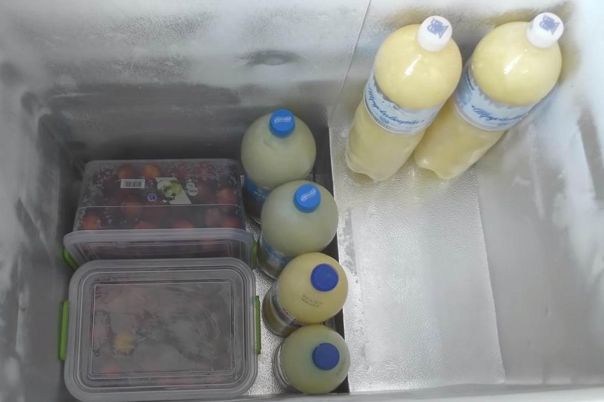 глубокая заморозка продуктов