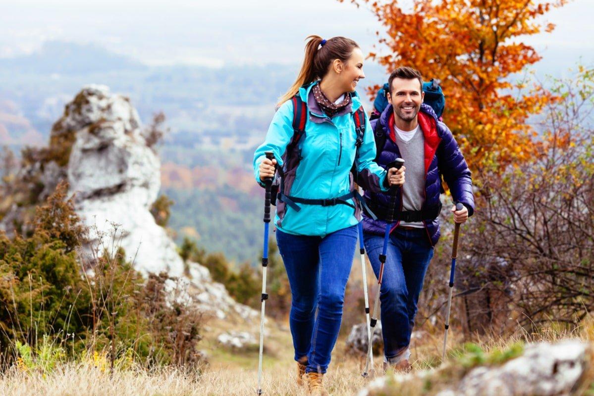 Есть мнение, что скандинавская ходьба эффективнее бега
