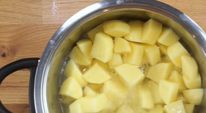 картофель в запеканкую
