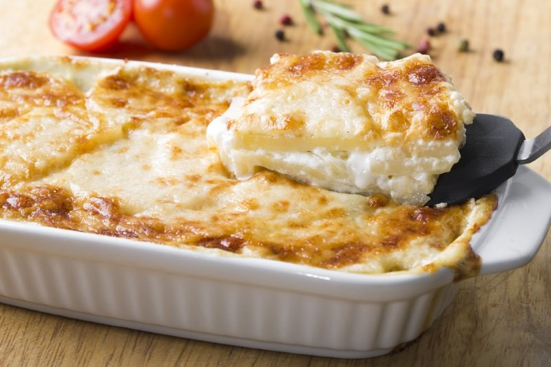 картофельная запеканка легкий рецепт