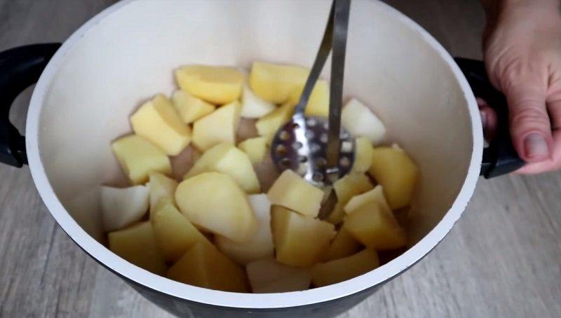 картофельная запеканка в духовке с мясом