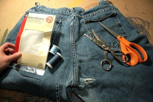 ремонт джинсов