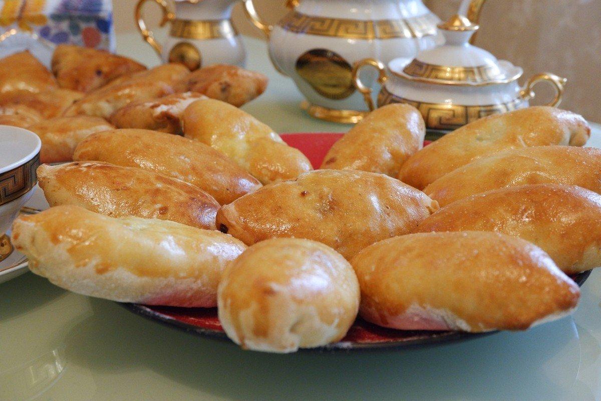 вкусные пирожки из заварного теста