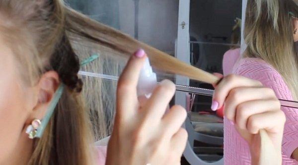 коса къдрене снимки