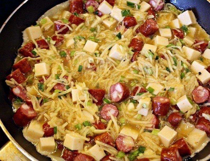 картофельный омлет по-испански