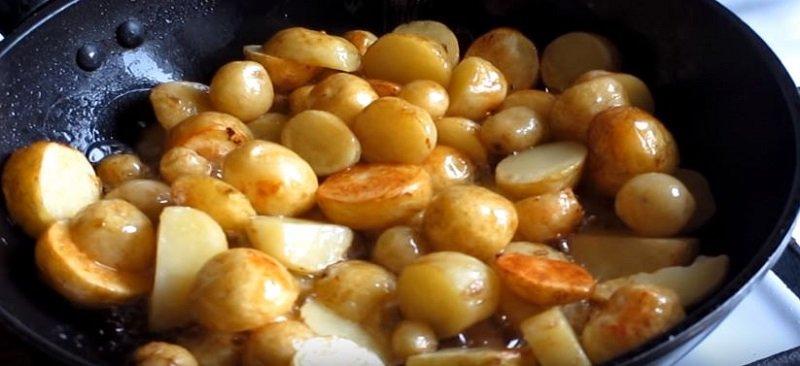 жареная картошка картинки