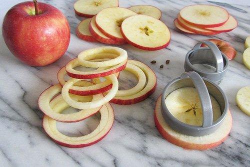 приготовление яблочных колец