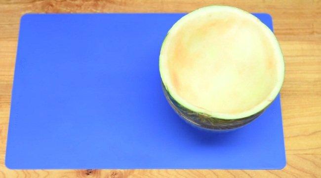 рецепт желе в арбузе