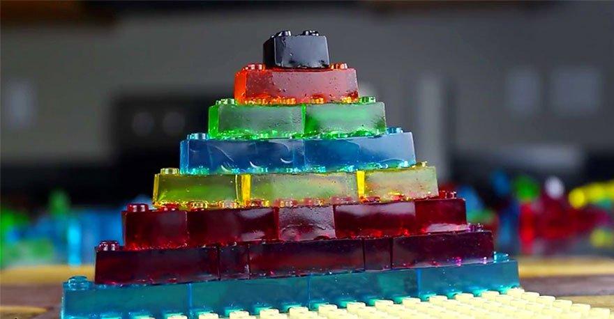 желейные конфеты LEGO