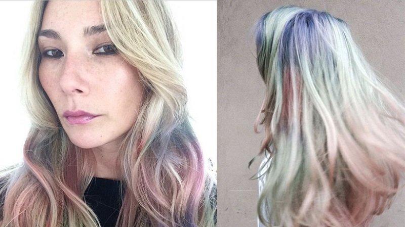 кому идет жемчужный цвет волос