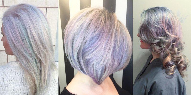 жемчужное тонирование волос