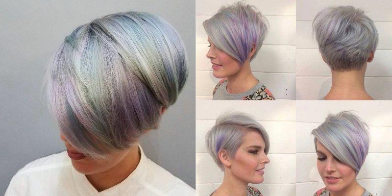 жемчужные оттенки волос