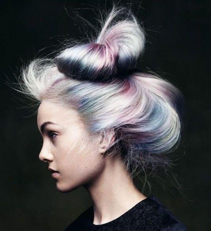 жемчужный тон волос