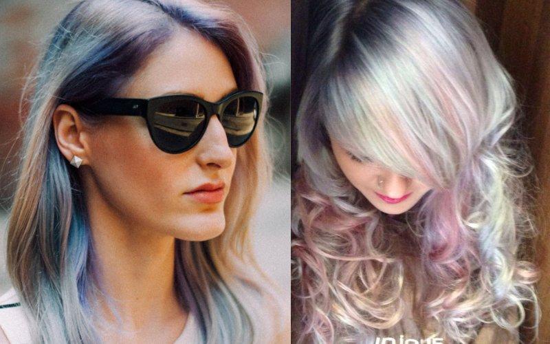 опаловый цвет волос