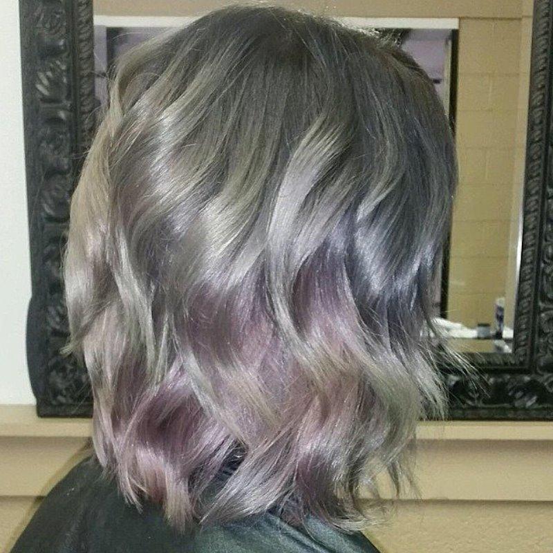 как покрасить волосы в жемчужный цвет