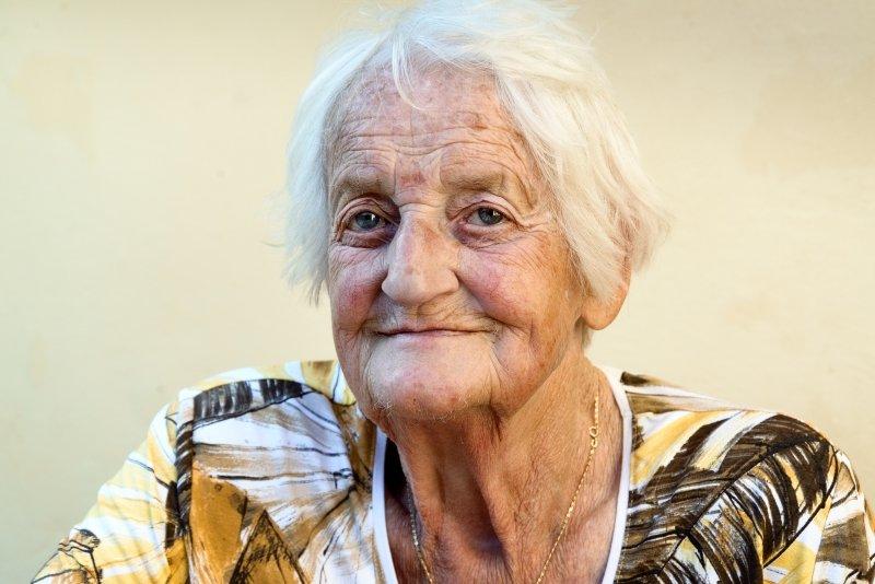 женщина в старости
